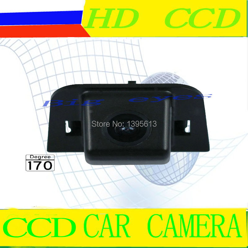CCD Chip Car Auto Rear View Reverse Backup Parking Safety CAMERA Mirror Image for TOYOTA Prius 2012 12 with Guide Line(China (Mainland))