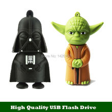 USB Cartoon Star War USB Flash Drive Pen Drive 4gb 8gb 16gb 32gb Real Capacity Pendrive Memory Stick U Disk USB 2.0 Flash Card