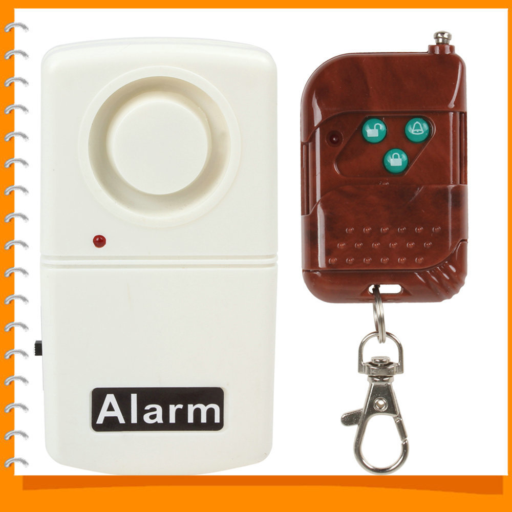 Wireless door alarm sensor window glass break vibration for Window alarms
