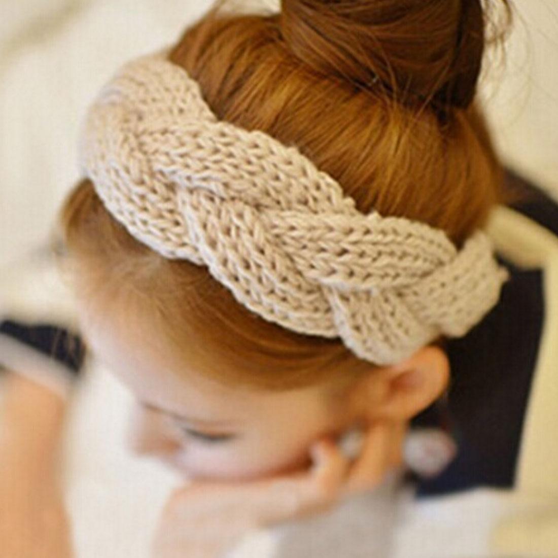 Вязание крючком ободок на волосы