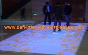 Low cost Interactive Floor Magic Floor for advertising, exhibition, event, education, wedding.with 111 effect