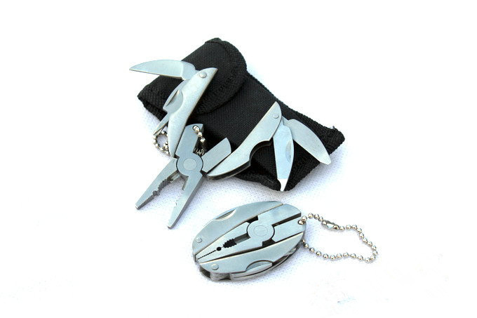 Multi Function Mini Pocket Plier Knife Screwdriver Keychain Stainless Steel Folding Tools Pliers With Nylon Case Bag<br><br>Aliexpress