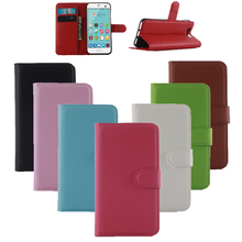Buy 100pcs/lot Lichi Texture PU Leather Phone Cases Cover For Apple iPhone 7 Case Wallet Book Style Conque With Stand Function Shell for $268.00 in AliExpress store
