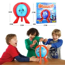 Buy Kids Children Great Family Fun Toys Board Game 6*27*27 cm Boxed Educational toy Boom Boom Balloon Poking Game Don't Blow for $11.04 in AliExpress store