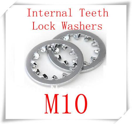 500pcs/lot DIN6797J M10 Stainless Steel A2 Internal Teeth Lock Washers<br><br>Aliexpress