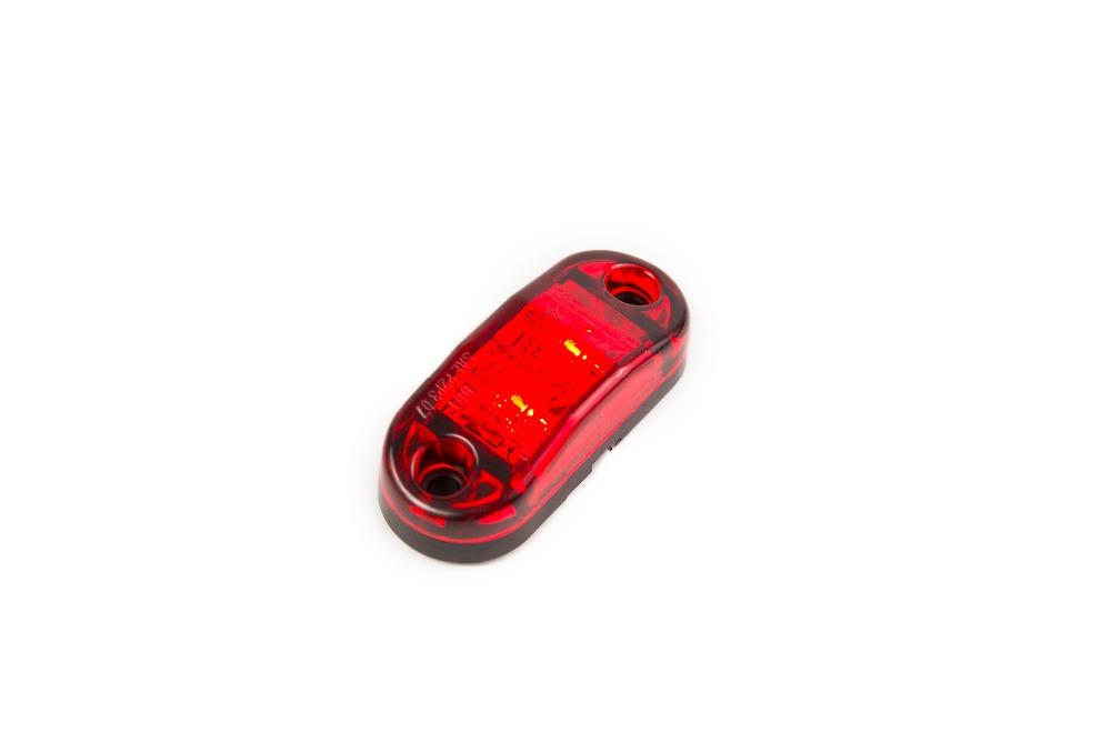 100pcs LED Side Marker Light Clearance Lamp 12V 24V E-marked Car Truck Trailer BUS Rear lamp external Lights Parking lights(China (Mainland))