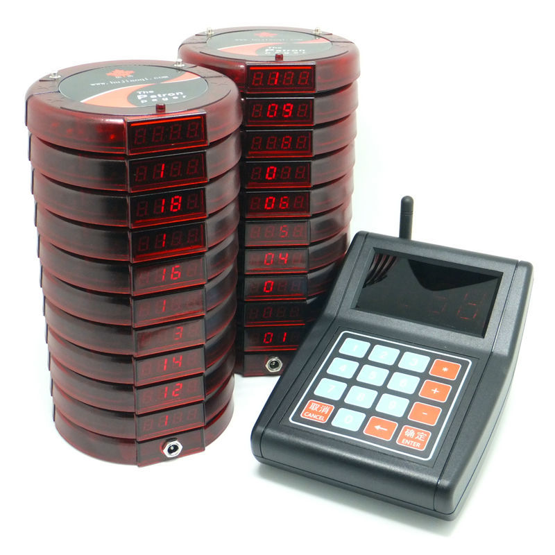 Пейджер CATEL 20 , The partron pager  wireless pager service restaurant cafe restaurant bell call room w999218 wireless pager