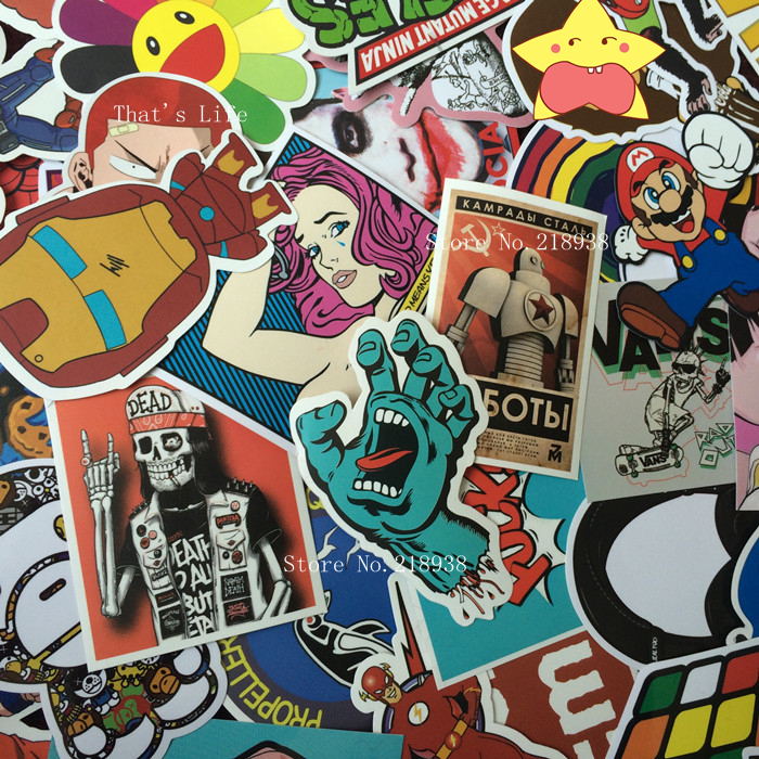 vinyl stickers for car sticker decal bicycle laptop sticker on car styling sticker bomb doodle motorcycle