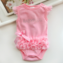 2016 Baby girls Bodysuits Newborn Clothes bebe Bodysuits Summer Infant children climb 100% cotton clothing Jumpsuit Triangle(China (Mainland))