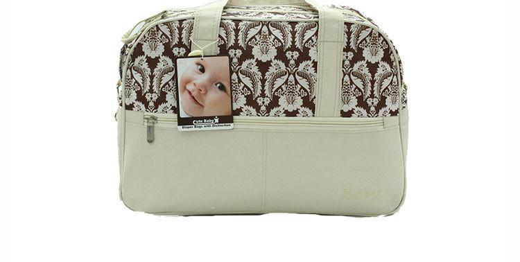 Мода дизайнер Diper мешок детских сумок для мамы женщины водонепроницаемая большие коляска беременным детские изменение сумочка HK809