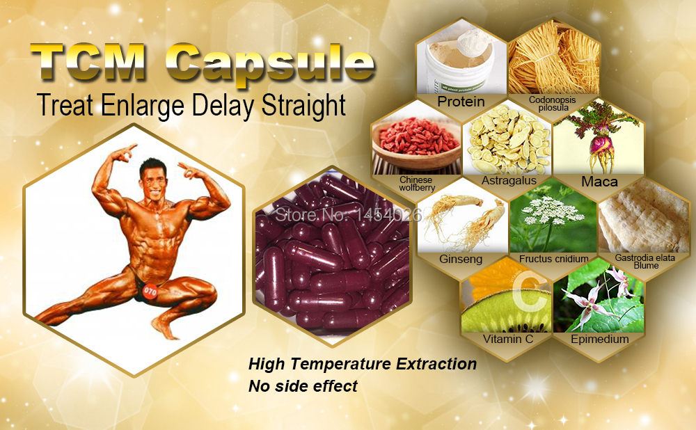 Natural to Treat Premature Ejaculation,Increase Sperm, Strengthen Body, Sex product, toys for men,Peni enlargement,Free Shipping(China (Mainland))