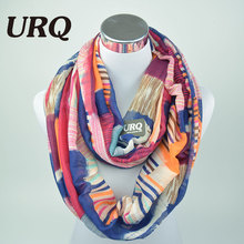 Designer Brand Fashion Infinity Scarfs Winter Warm Plaid Tube scarf Tartan printed Women scarves V8A9213(China (Mainland))