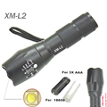 flashlight 18650 torch L2 Led waterproof ZOOM Light EBuyFire E17 XM L2 2300Lumens Lamp 3x AAA