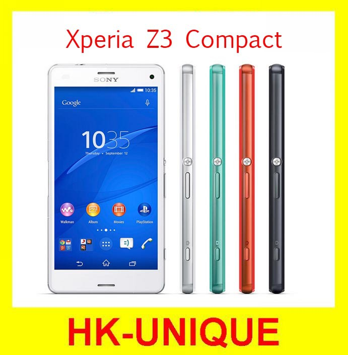 Мобильный телефон SONY Xperia Z3 Quad 4.6 2 16 ROM 20.7mp Android SONY Z3