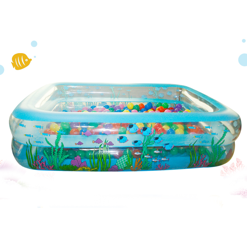 High Quality Inflatable PVC Family Large Piscinas Rectangular Zwembad Swimming Pool For Adults And Children Size 305*183*50cm(China (Mainland))