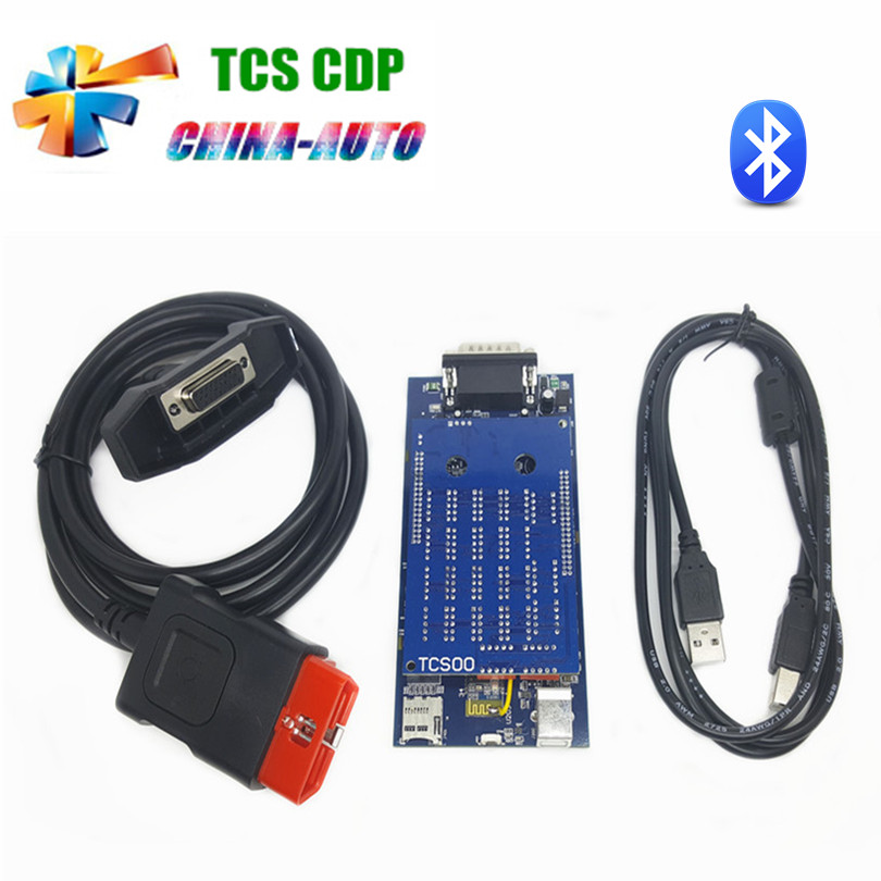 Cool Newest vci 2015.R3 software with bluetooth obd2 OBDII car scanner tcs CDP Pro Plus diagnostic tool For cars and trucks(China (Mainland))