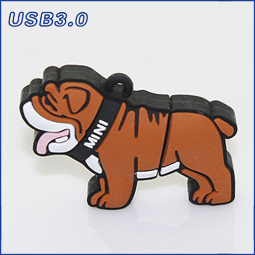 Genuine Bulldog Pen Drive 64GB 32GB 16GB 8GB USB 3.0 Stick Cool Dog USB Flash Drive Cartoon Pendrive Pet Gift Free Shipping(China (Mainland))