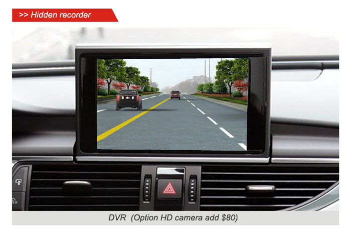 Car Original Screen to Upgrade system for Audi A4L,A5,A6L,A7 A8 (After 2012 3G mini) Smartphone Mirror-link,Front view,Rear view