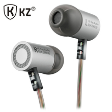 KZ In Ear Earphone Hifi Bass Metail Earphones with Mic Free Shipping Fone de ouvido font