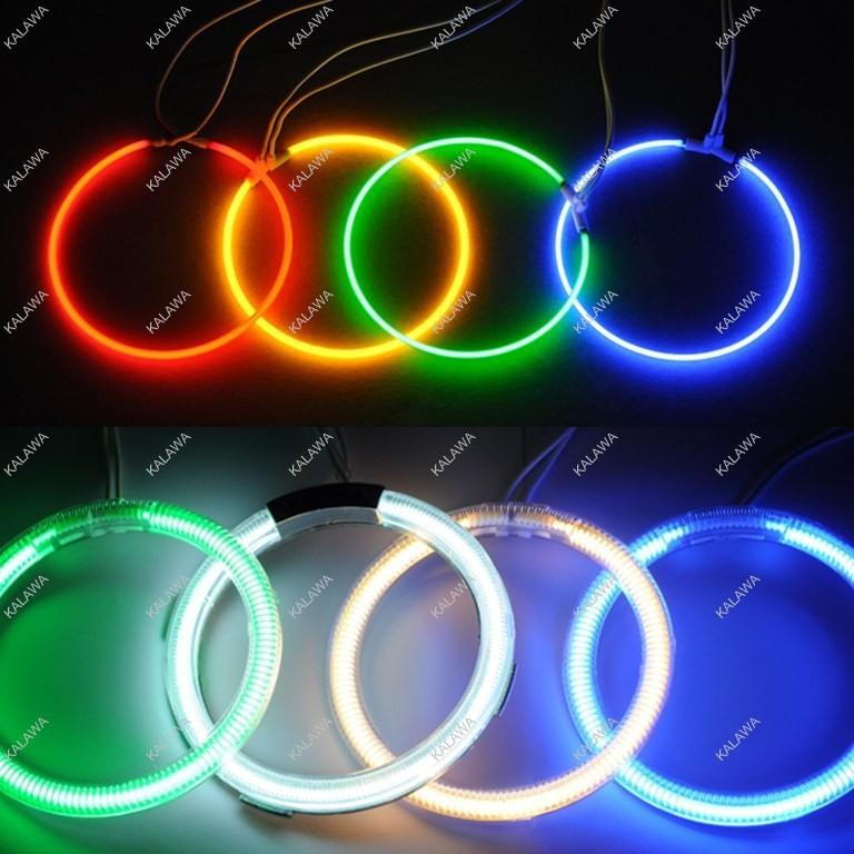 Angel Eyes a set 120mm 12cm CCFL Halo Ring Halo Light headlight fits for B.M.W E30 E32 E34 6 Colors Options GGG FREESHIPPING(China (Mainland))