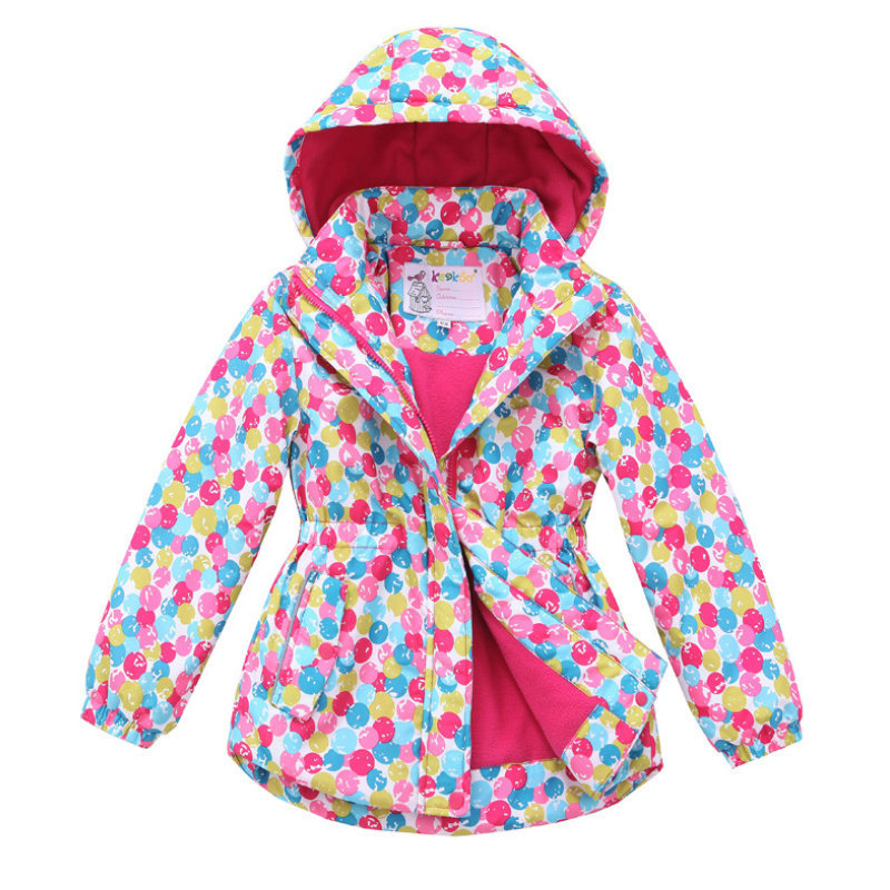 GK027 Free Shipping Children Girls Skiing Jacket Kids Winter Snowboard Fleece Waterproof Coat Breathable Hiking Clothes(China (Mainland))