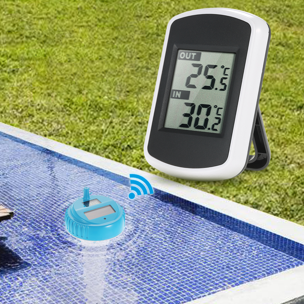 Piscine thermom tre sans fil promotion achetez des piscine for Temperature piscine