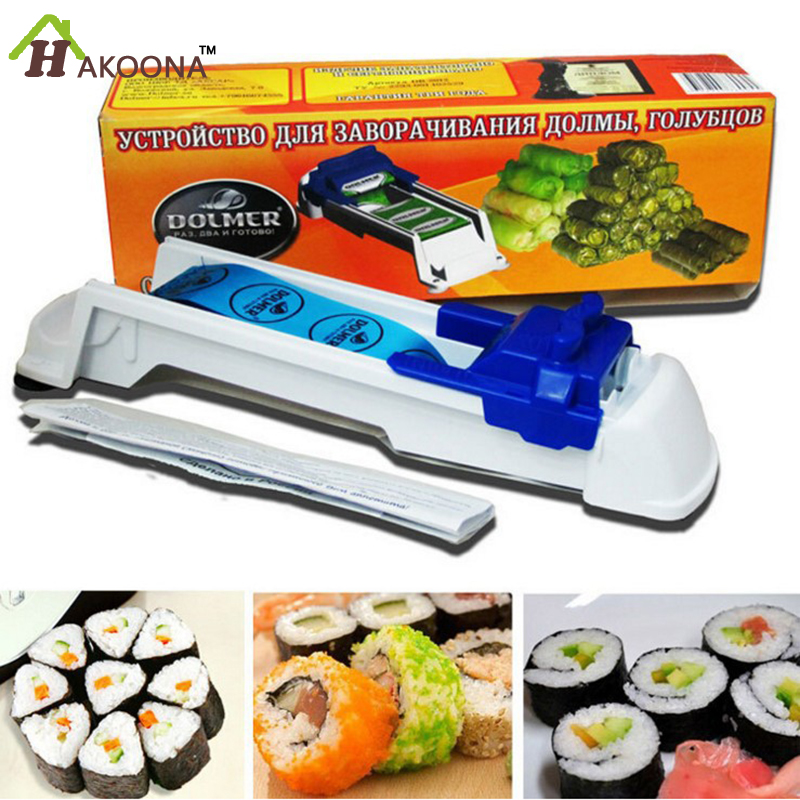 Plastic Volume Meat Machine Shou Driver Vegetables Meat Control Spring Roll Machine Sushi Kit Kitchen Gadgets(China (Mainland))
