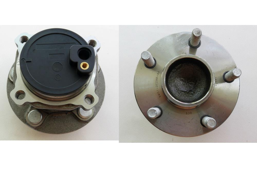 NEW Rear 5 Lug Wheel Bearing & Hub Assembly for FORD FOCUS 2 mk2 mk3 1 pc(China (Mainland))