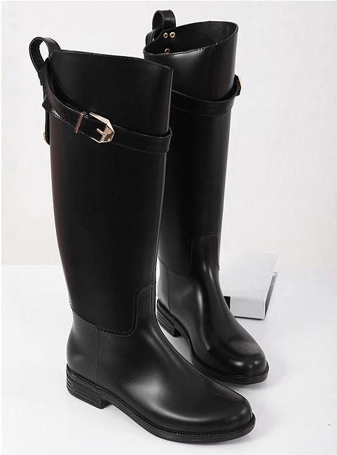 Popular  Womens Dolcis Chelsea Ankle Boots Block Low Mid Block Heel Biker Shoes
