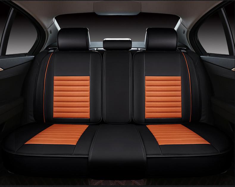 automobile seat cover pu leather cushion set for Agila Vectra Zafira Astra GTC PAGANI ZONDA SAAB Spyker RAM HUMMER free shipping