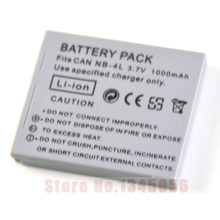 1000mAh NB-4L NB4L NB 4L Battery for Canon IXUS 50 55 60 65 80 75 100 I20 110 115 120 130 IS 117 220 225 230 255 HS SD780 SD960