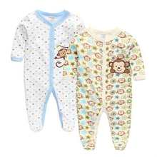 3M-9M Foot Cover Winter Next Baby Clothing 100%Cotton Baby Product Brand Girl Boy Sleepwear Full Sleeve Pajamas For Girls(China (Mainland))