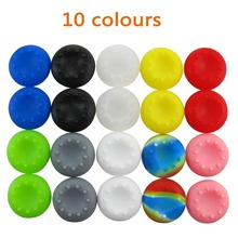2 PCS Rubber Silicone Cap Thumbstick Thumb Stick X Cover Case Skin Joystick Grip Grips For PS4 PS3 PS2 XBOX 360 ONE Controller