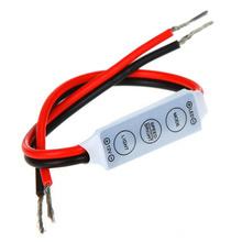 12V - 24V 12A Mini LED 3528 5050 Unico Controlador para las Tiras Barras LED 3 Keys Single Color LED Light Strips Controller(China (Mainland))