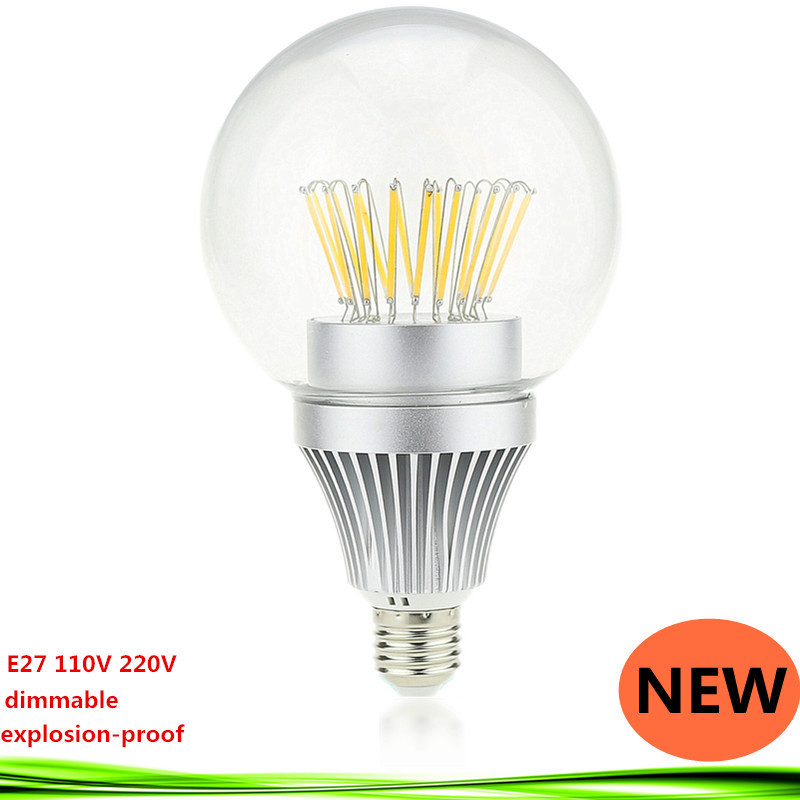 1X LED Filament Light E27 E26 110V/220V 15W 20W 25W 30W dimmable Vintage Edison Incandescent Lamp Filament Bubble Bulb(China (Mainland))