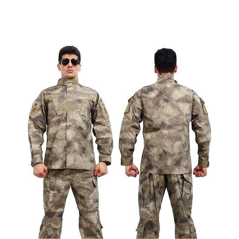 Military woodland camouflage Uniform army combat uniform hunting suit Wargame COAT+PANTS - King Internatioal Trade Co.,Ltd store