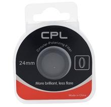 Circular Polarizer Glass 24mm CPL Filter for mini 0806 car recorder Car Dash Cam Camera dvr free shipping