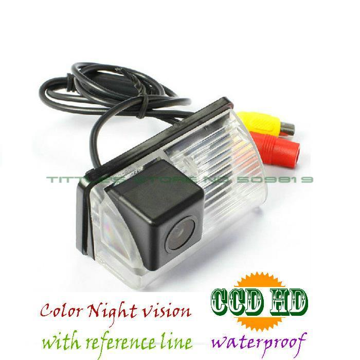 wireless wire Waterproof CCD Rear View Reverse Camera For Toyota Reiz 08-09 LAND CRUISER lifan620/ Corolla EX /byd F3/F3R/S6/M6(China (Mainland))