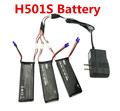 BLLRC New 3 x 7 4V 10C 2700mAh Battery Charger Set For Hubsan H501S X4 RC