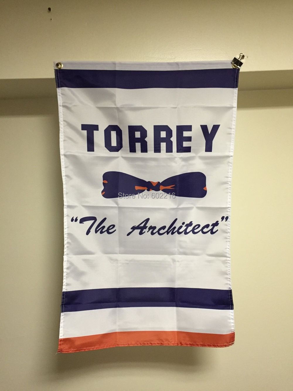 GM Bill Torrey Retirement Banner New York Islanders Flag Stanley Cup Flag 3FTX 5FT(China (Mainland))