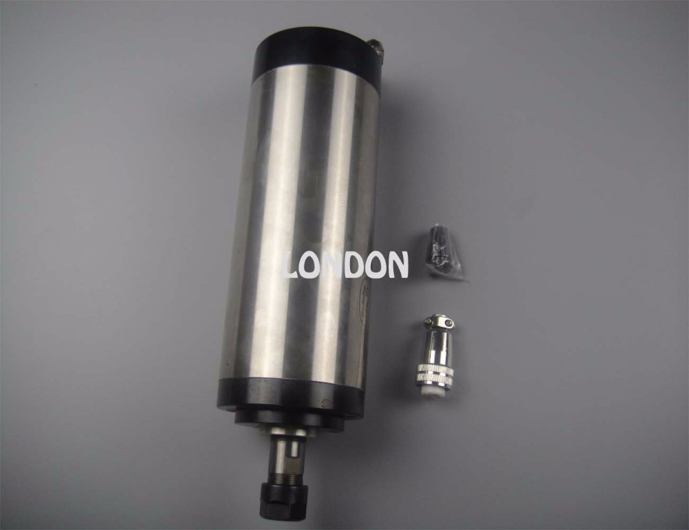 CNC spindle kit ER16 1.5KW water cooling spindle +water pump+water pipe+spindle support