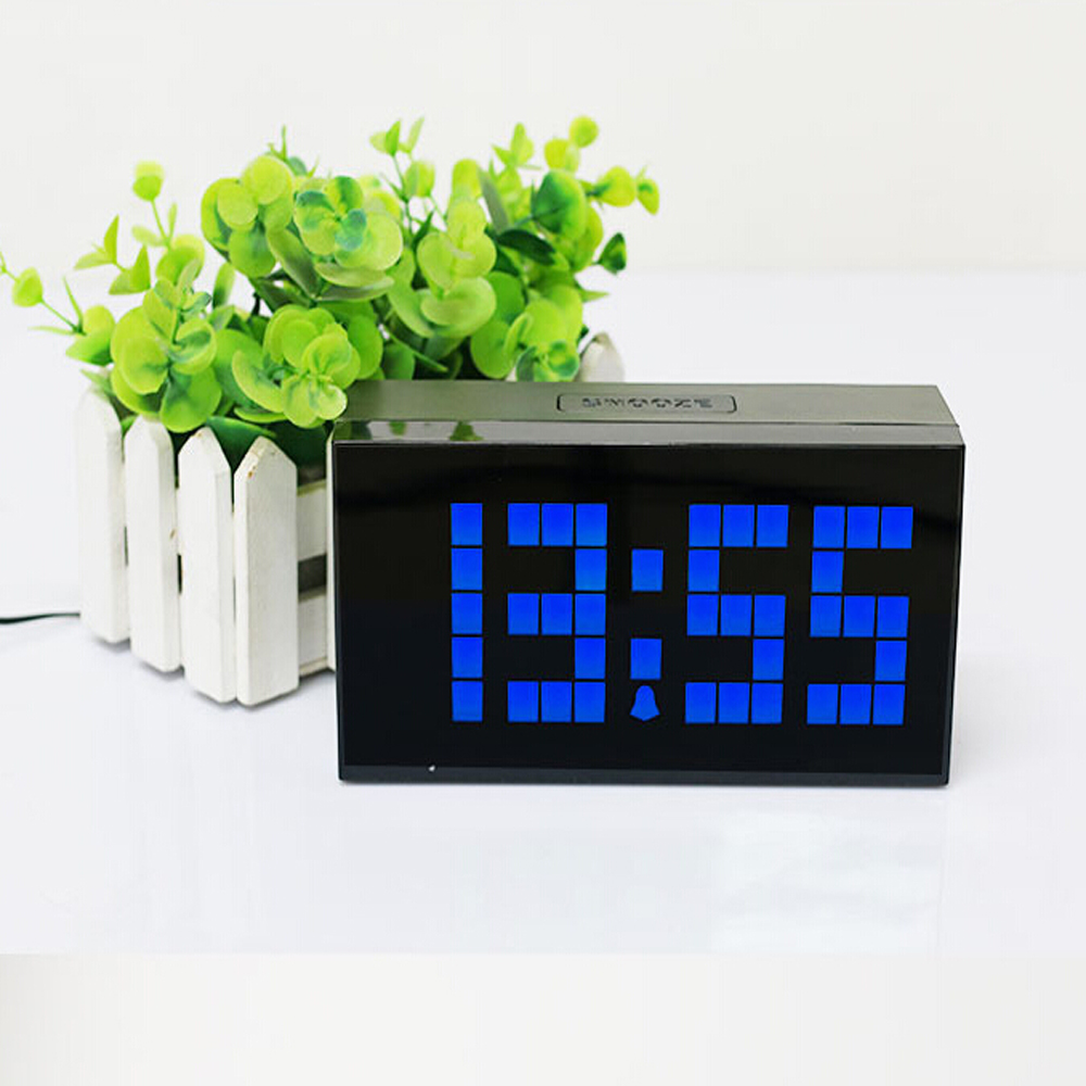 Led digital kitchen wall clock table desk alarm watch for Kitchen table wall decor
