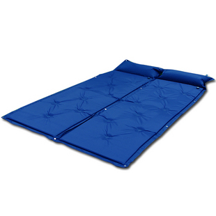 Automatic airbed Self Inflating Camping Mat Mattress Blue color 183*57*2.5cm(China (Mainland))