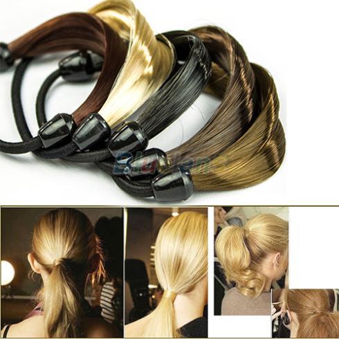 Korean Wig Hair Ponytail Holders Plaits Hair Circle Manual Twist Rubber Band Headband HeadwearОдежда и ак�е��уары<br><br><br>Aliexpress