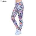 Zohra Autumn Winter Women Legging Wild Dots Printed leggins for Women leggings High Waist Legins Woman