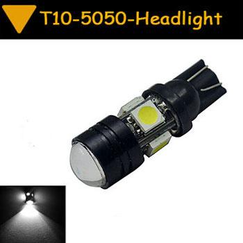 1pcs T10 5050 SMD 4 LED 3 W Car Vehicle Head Side Light Lamp White warm white blue red yellow CD00024(China (Mainland))