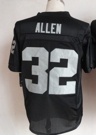 Hotsale!! rugby jersey Top Quality Embroid The Elite Auckland #32 Allen American football jersey Black Color Free Shipping(China (Mainland))