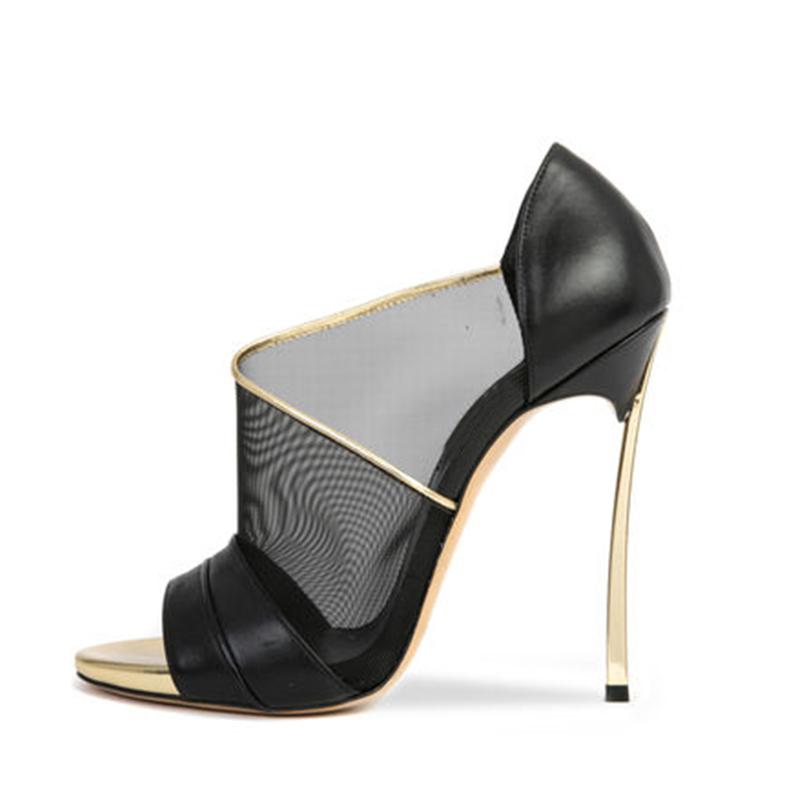 New Hot Sales Women Fashion Peep Toe Mesh Legging High Heels Sandal Lady Sexy Summer cutouts Shoes open party banquet Free Ship<br><br>Aliexpress