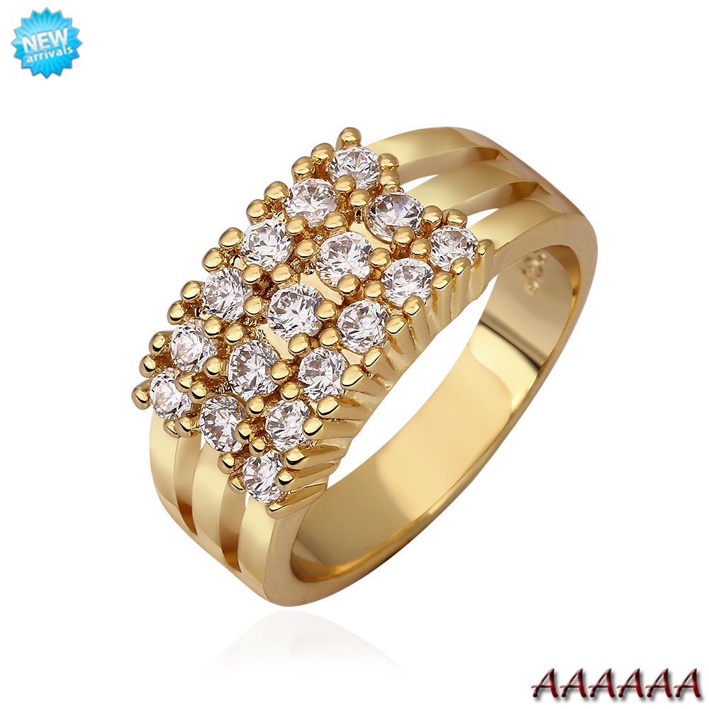 Кольцо для помолвки Other QualityNickle R595 AntiallergicNew 18 k PlatedRing R594 R595 кольцо для помолвки other qualitynickle r594 antiallergicnew 18 k platedring r594 r595