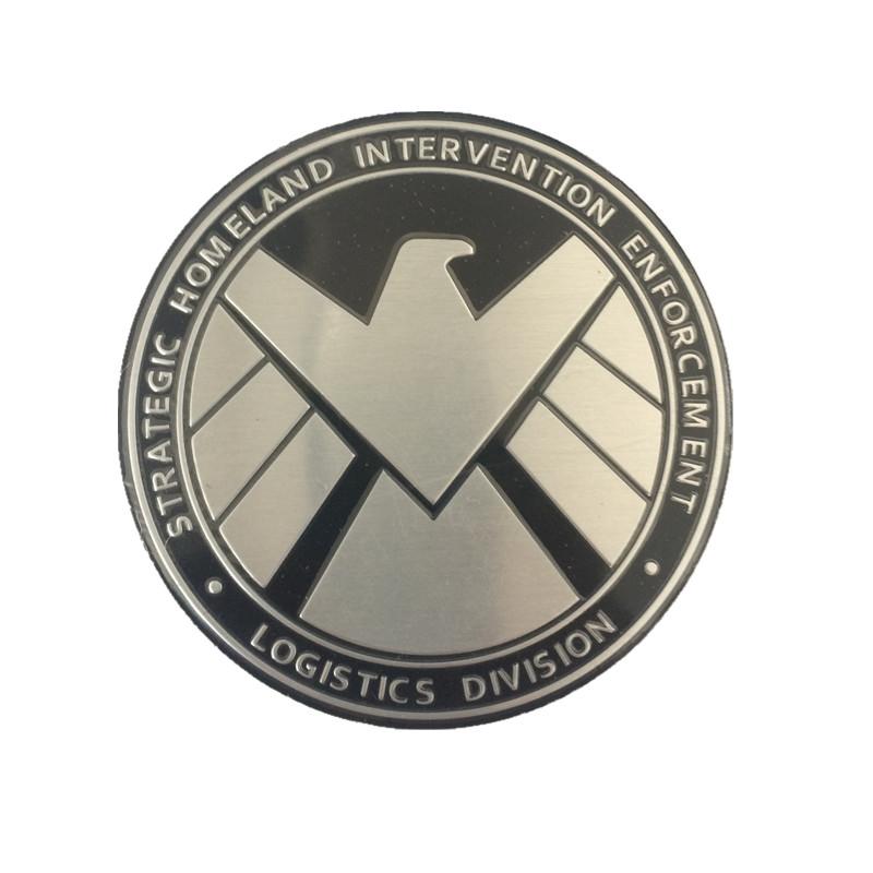car-styling 3D Metal Car Sticker Emblem Badge car styling Sticker accessories For ford cruze kia skoda octavia mazda bmw vw(China (Mainland))